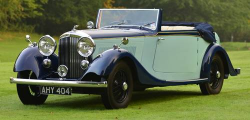 1935 Bentley 3.5 Litre Drophead Coupé Park Ward