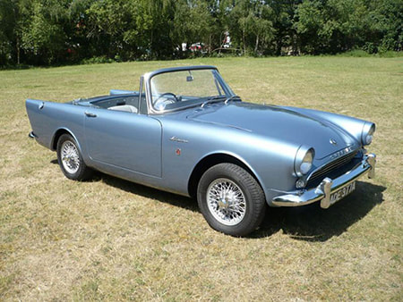 1962 Sunbeam Alpine (Dr. No)
