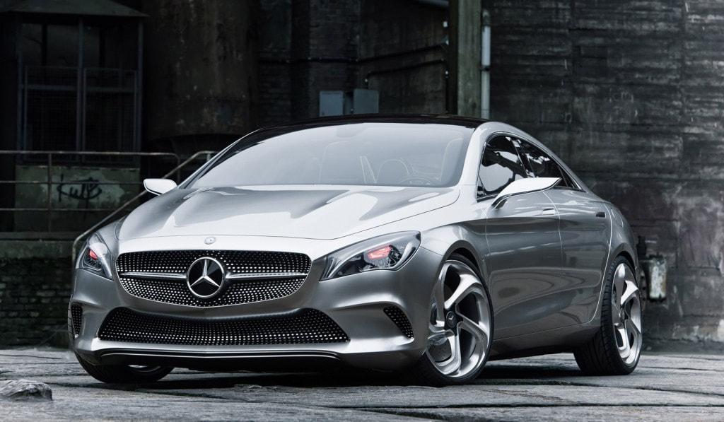 2012 Mercedes-Benz Concept Style Coupe front