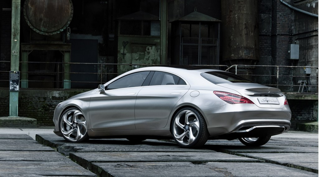 2012 Mercedes-Benz Concept Style Coupe rear