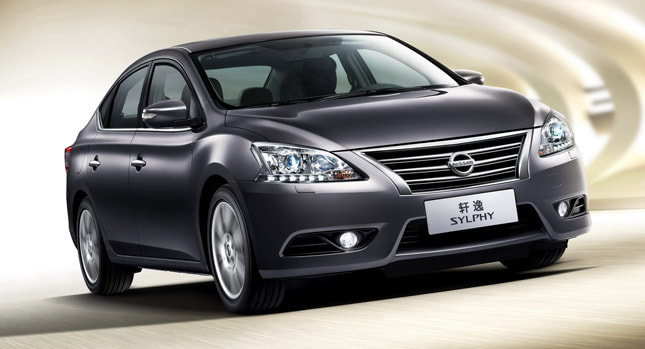 2013 Nissan Sylphy front