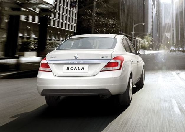 2013 Renault Scala rear