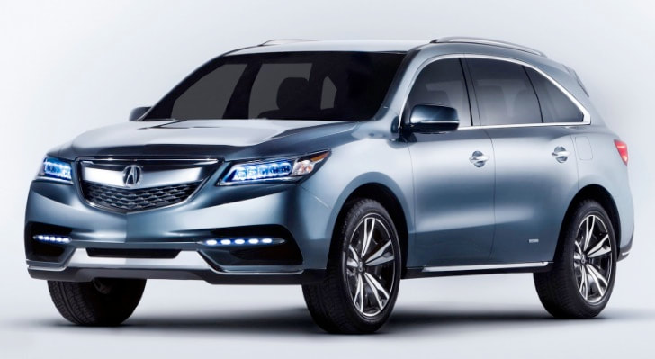 2013 Acura MDX concept front