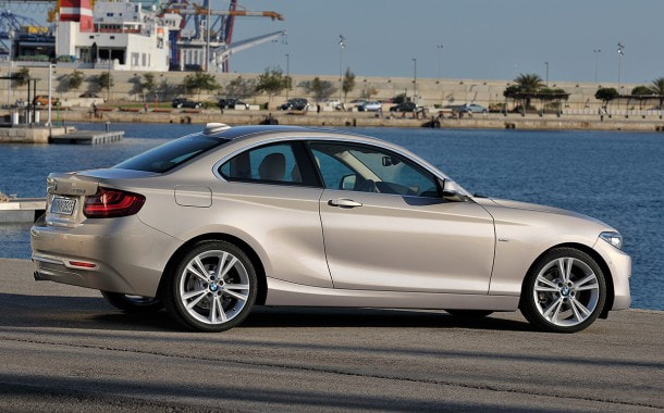 2014 BMW 2-Series rear