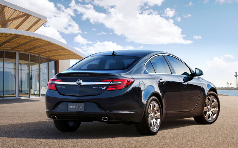2014 Buick Regal rear