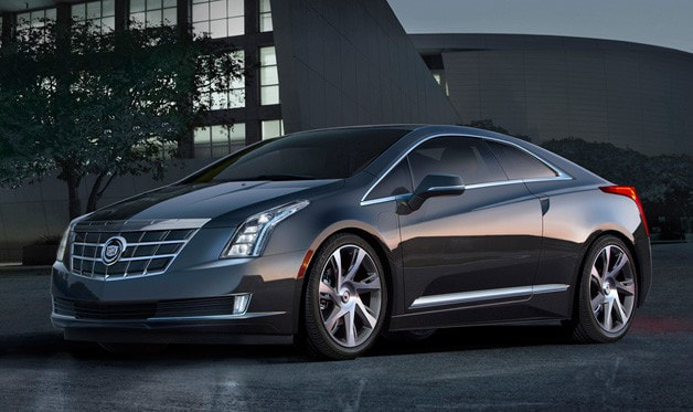 2014 Cadillac ELR front