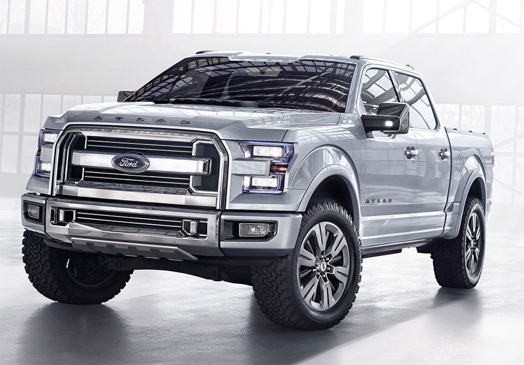 2013 Ford Atlas concept front