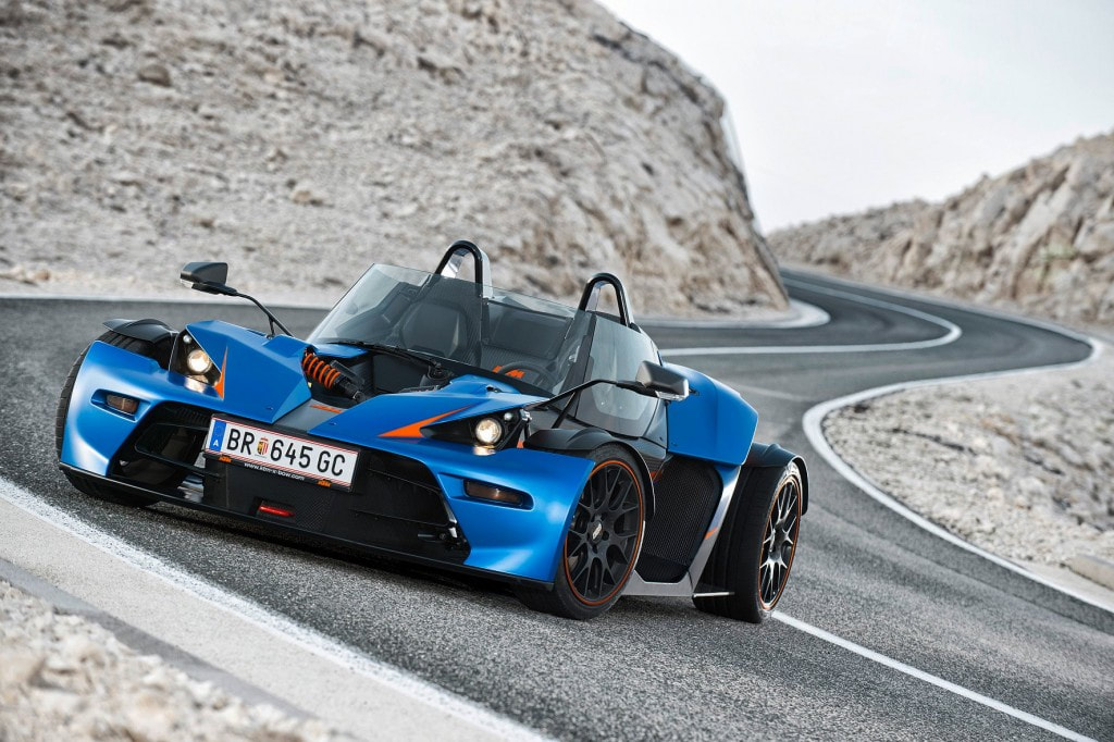 2014 KTM X-Bow GT front