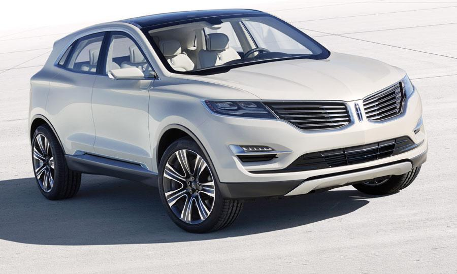 2013 Lincoln MKC concept front
