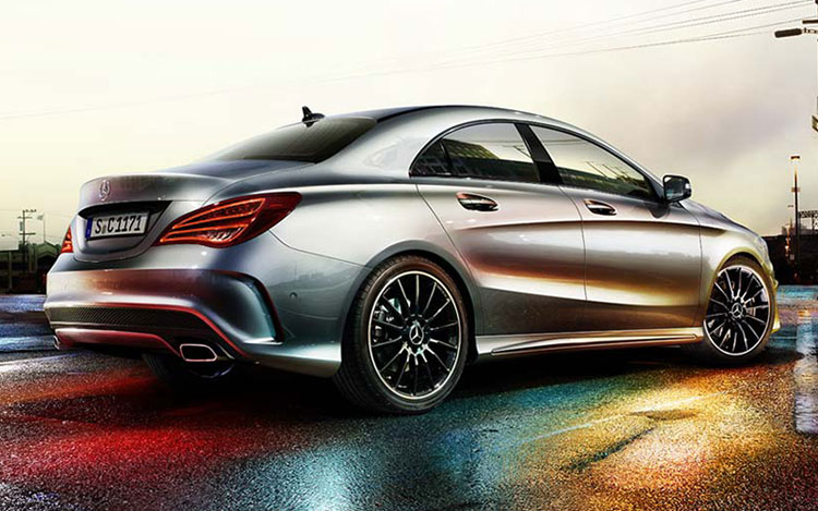 2014 Mercedes-Benz CLA rear