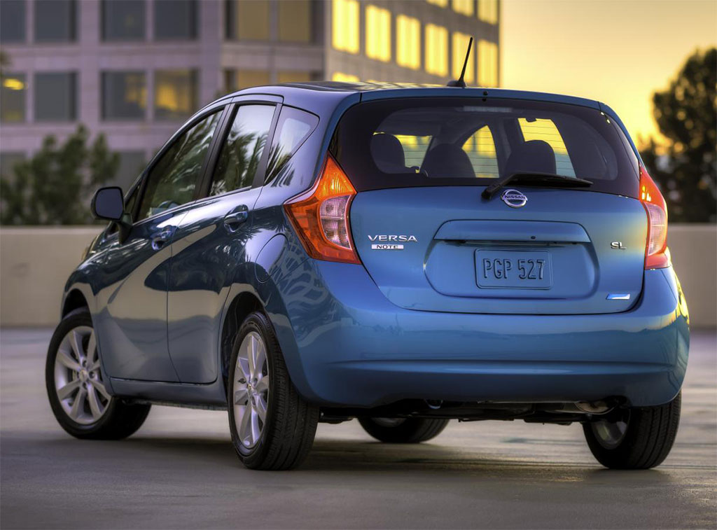 2014 Nissan Versa / Note rear