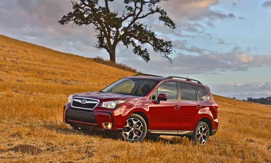 2013 Subaru Forester front