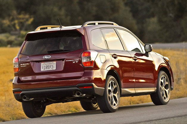 2013 Subaru Forester rear