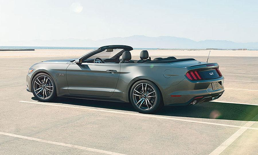 2015 Ford Mustang GT convertible rear