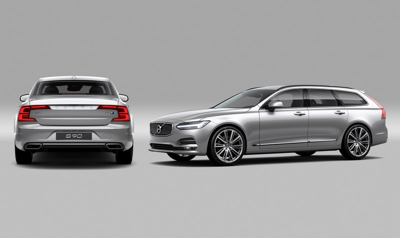 2016 Volvo S90/V90 Polestar Performance Package front