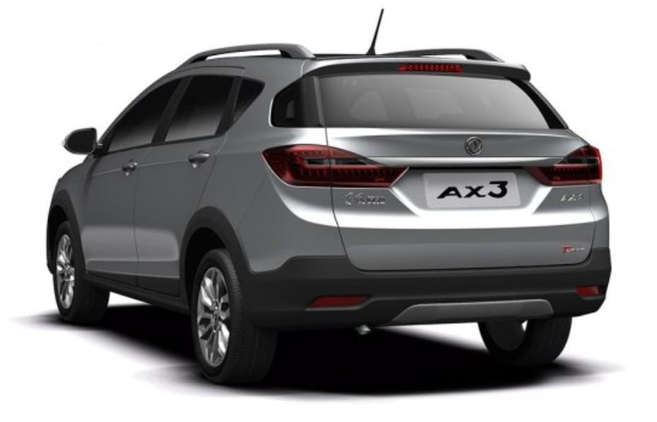 2017 Dongfeng Fengshen AX3 rear