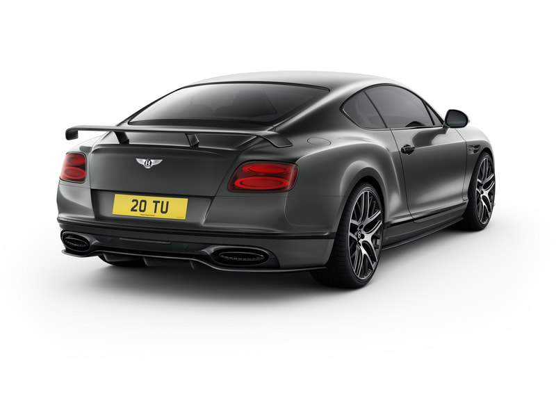 2018 Bentley Continental Supersports rear