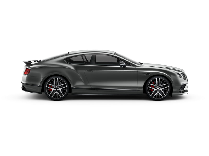 2018 Bentley Continental Supersports side