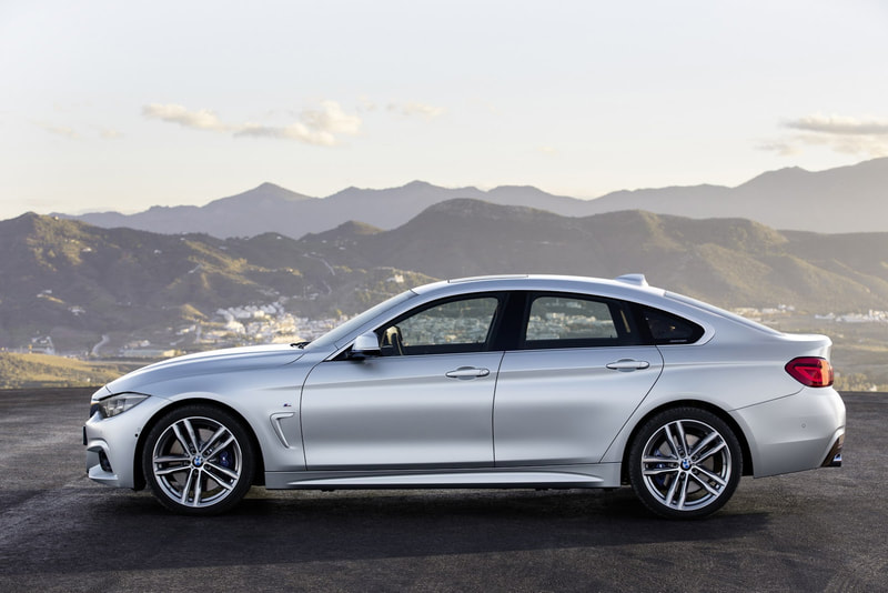 2018 BMW 4-Series Grand Coupe side