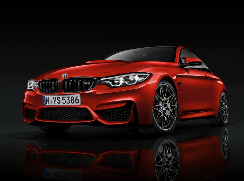 2018 BMW M4 front
