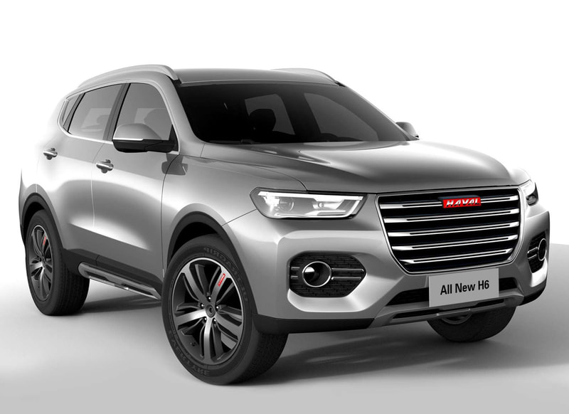 2018 Haval H6 front
