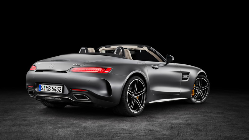 2018 Mercedes-Benz AMG GT Roadster rear