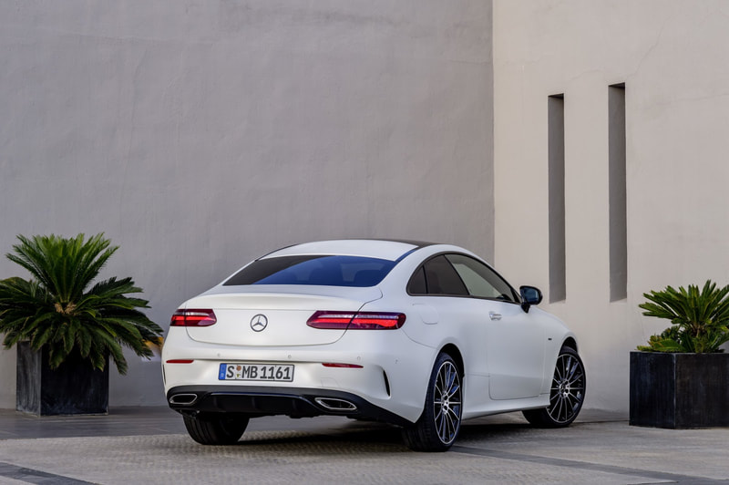 2018 Mercedes-Benz E63 AMG coupe rear