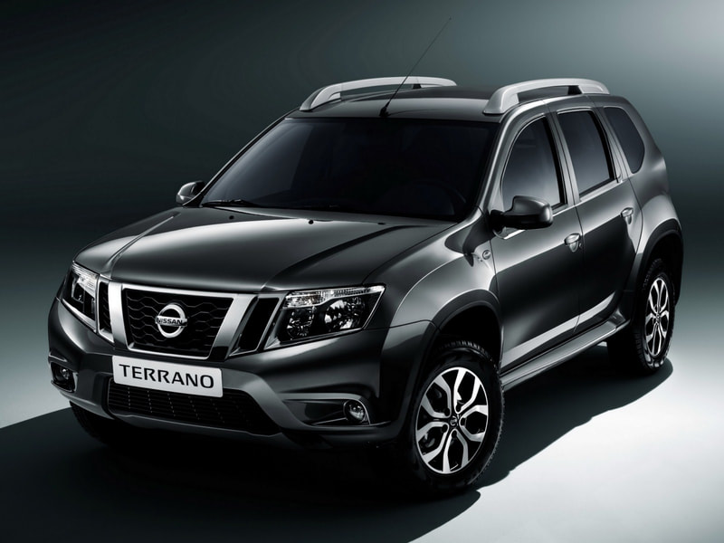 2018 Nissan Terrano front
