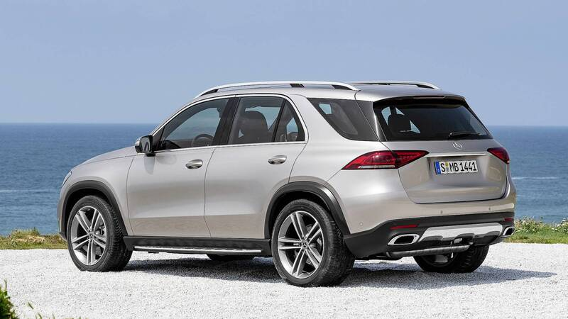 2019 Mercedes-Benz GLE rear