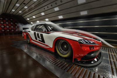2019 Toyota Supra Xfinity Series wind tunnel