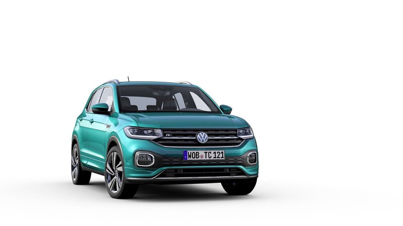 2019 Volkswagen T-Cross (EU)