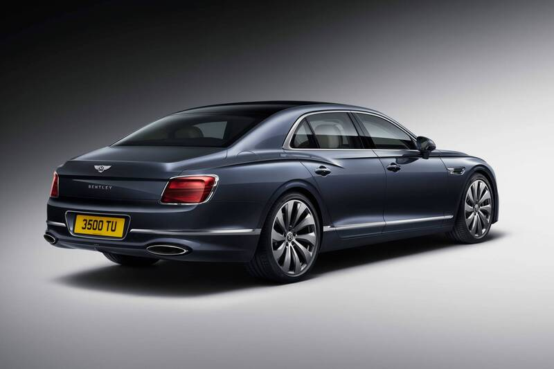2020 Bentley Flying Spur rear