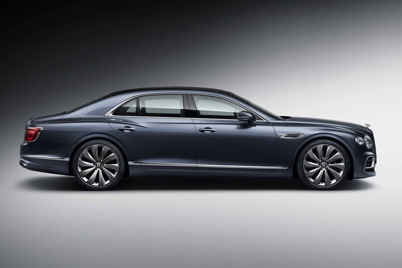 2020 Bentley Flying Spur side