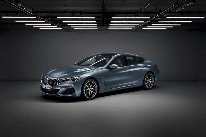 2020 BMW 8-Series Gran Coupe front