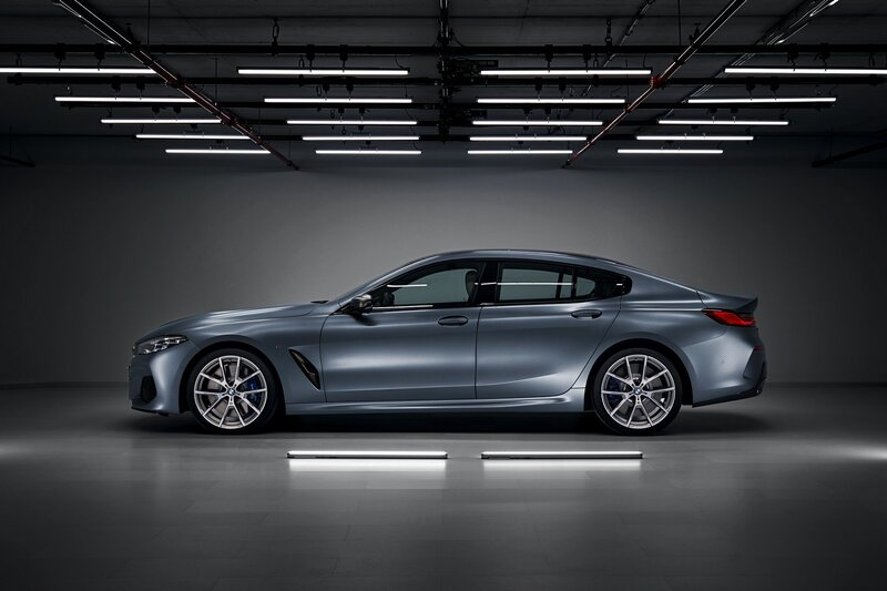 2020 BMW 8-Series Gran Coupe side