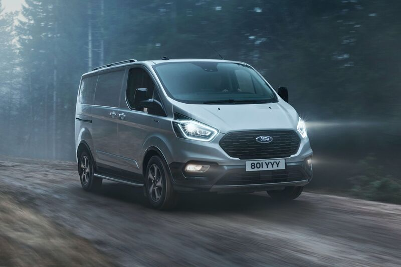 2021 Ford Transit Custom Active