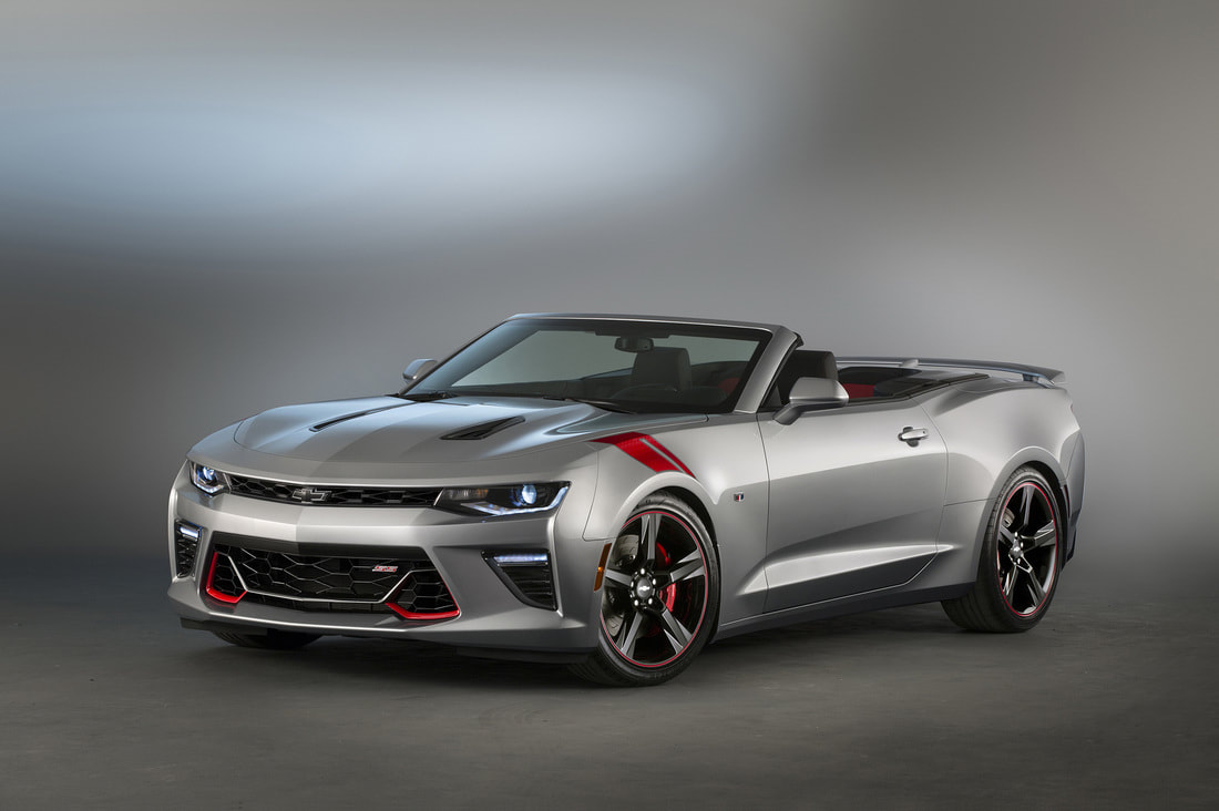 2016 Chevrolet Camaro convertible RedLine edition front