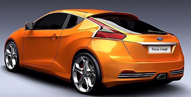 2012 Ford Focus Coupe concept rear