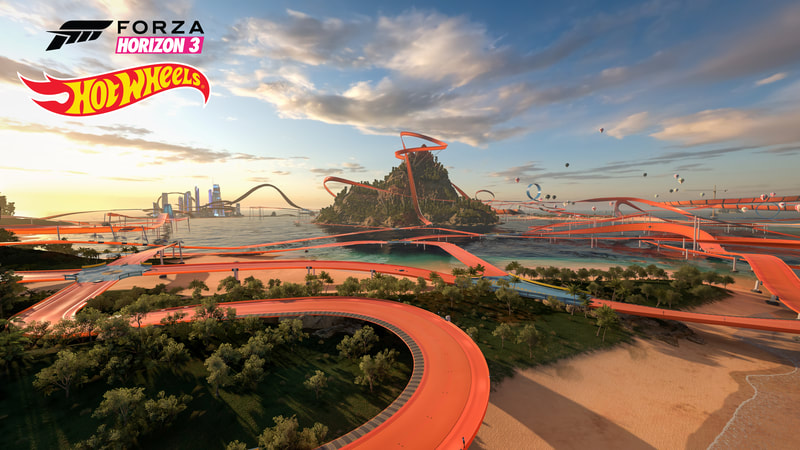 Hot Wheels forza tracks