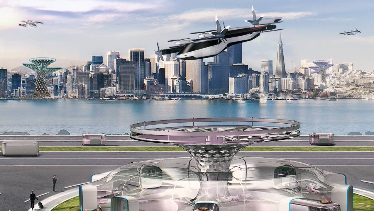 Hyundai Flying Car Service