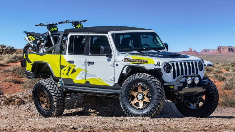 Jeep Flatbill concept front