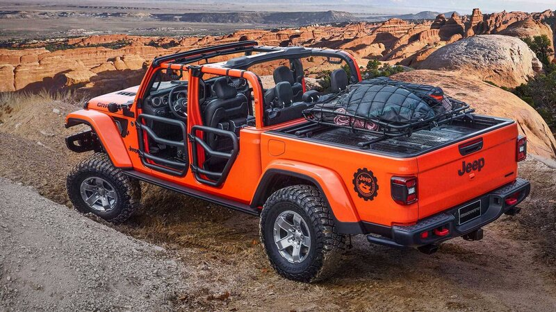 Jeep Gladiator Gravity concept rear