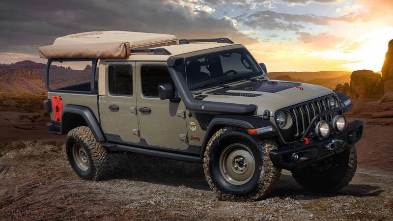 Jeep Wayout concept front