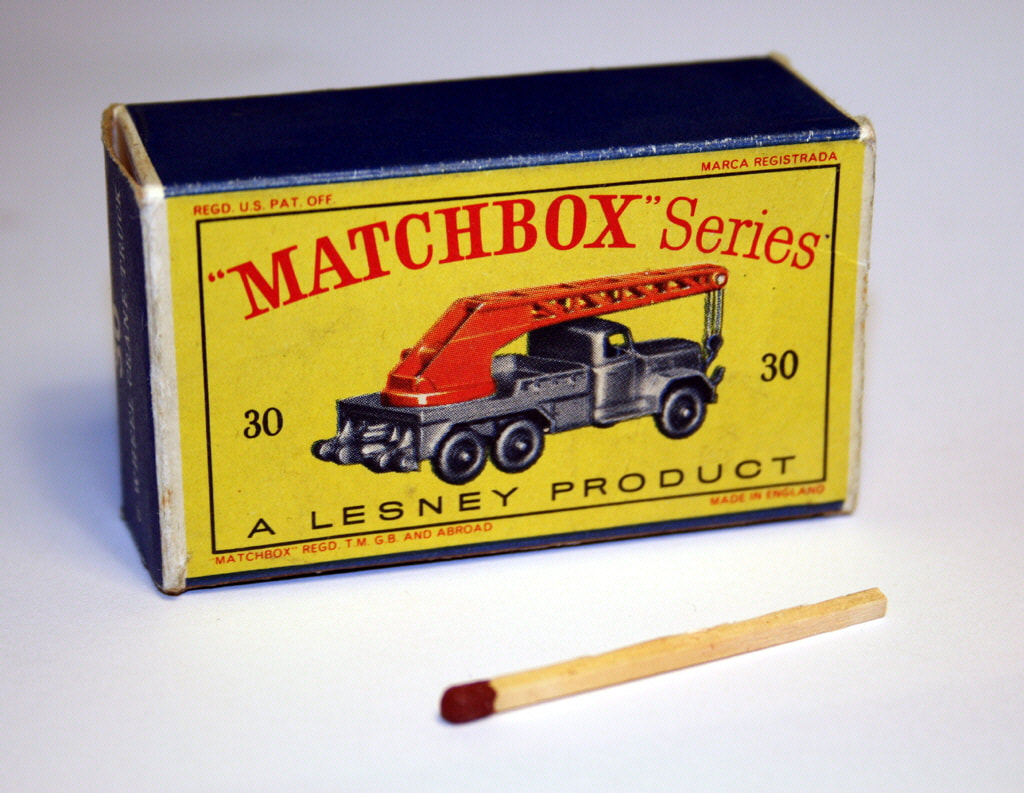 Matchbox original packaging