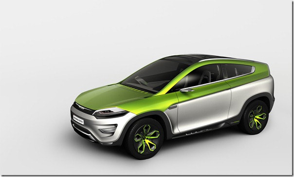 2012 Magna-Steyr Mila Coupic concept front