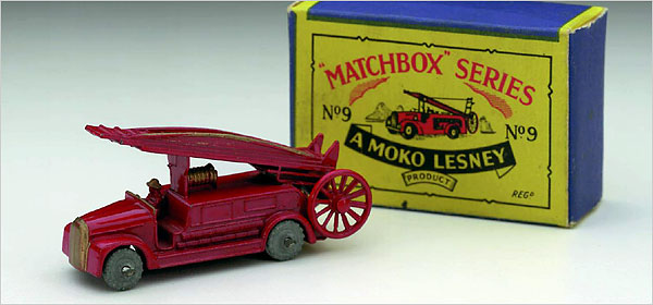 Matchbox original vehicle