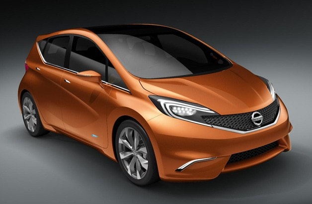 2012 Nissan Invitation concept front