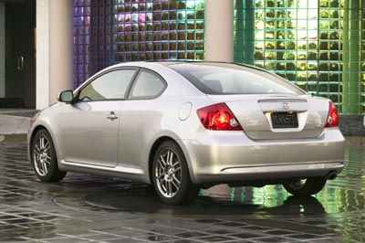 2005 Scion tC rear